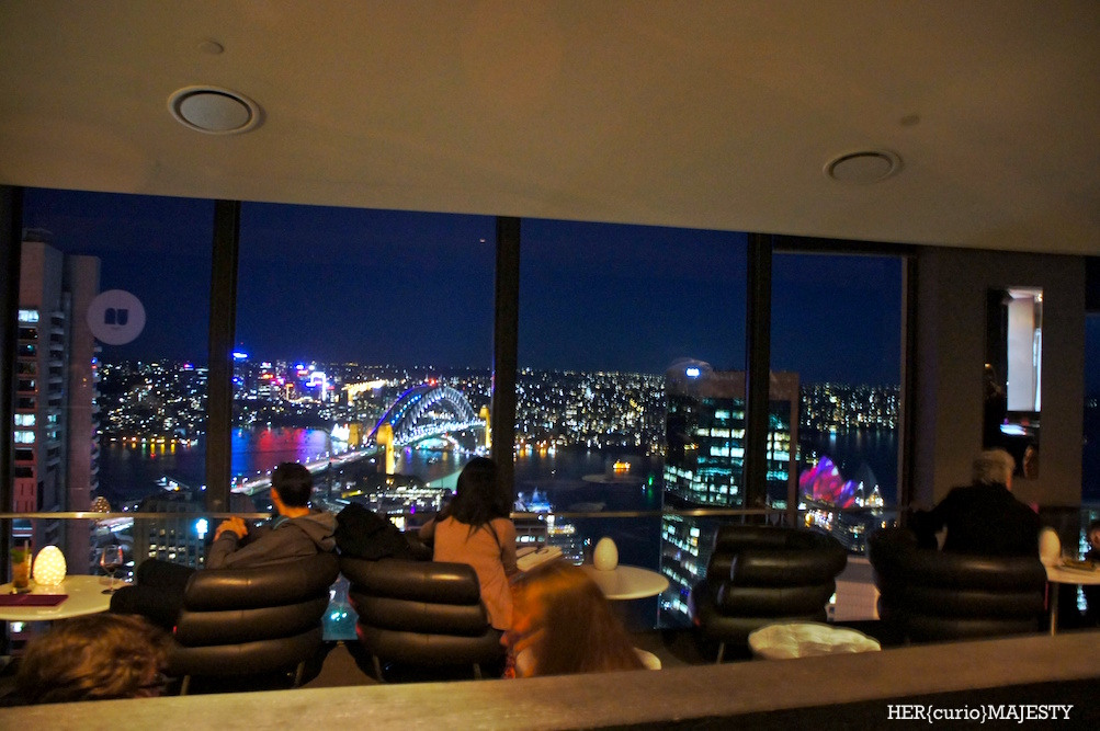 Sydney food o bar and dining on the top of sydney for Food bar sydney